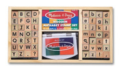 Melissa & Doug LCI3557 Alphabet Stamp Set