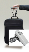 Air Weigh LS400 Deluxe Luggage Scale with Box Strap