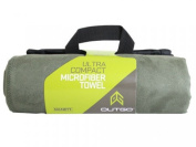 McNett Products MCN 44033 Outgo Microfiber Towel OD Green Medium 50cm . x 40 in.