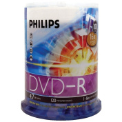Philips DM4S6B00F-17 16x DVD-Rs 100-ct Cake Box Spindle 4.7GB