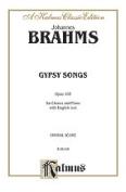 Alfred 00-K06101 BRAHMS GYPSY SONGS OP. 103 V