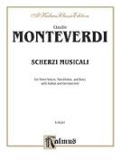 Alfred 00-K06287 Monteverdi Scherzi Musicali V Book