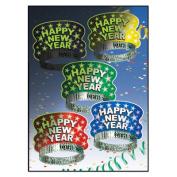 Beistle 88798-50 Midnight Glow Tiaras Pack Of 50