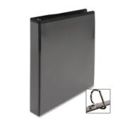 Business Source BSN28449 D-Ring View Binder- 7.6cm . Capacity- 11x 8-.130cm .- Black