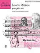 Alfred 00-14343 Schubert-Marche Militr-Pno Sol-Sc Book
