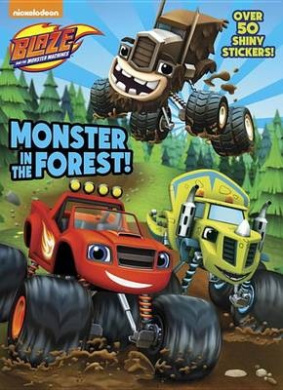 Monster in the Forest! (Hologramatic Sticker Book)