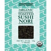Sound Sea Vegetables B28126 Sound Sea Vegetables Organic Toasted Sushi Nori -12x15ml