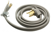 Master Electrician 09124ME 1.2m Grey Flat Dryer Cord