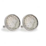 UPM Global LLC 12779 Liberty Nickel Sterling Silver Cuff Links