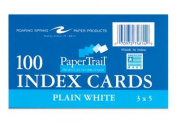 Roaring Spring Paper Products 74814 Index Cards - 100 Sheets Per Pack