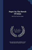 Paper on the Revolt of Islam