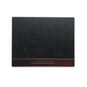 Eldon Office Products 23390 Wood Tone Desk Pad Mahogany 24 x 19