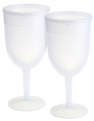 KitchenWorthy 150-FWIN2 KitchenWorthy Freezer Goblets - Case of 16 Sets of 2