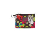 Joann Marie Designs P2IDCLF Poly Id Pouch - Chocolate Leopard Floral Pack of 6