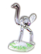 Asfour Crystal 915-17 1.73 L x 2.75 H in. Crystal Ostrich Animals Figurines