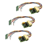 HO DCC Decoder w/JST Adapter (3) Multi-Coloured