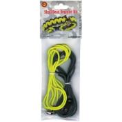 Parachute Cord Project Kit Makes 1-Yellow & Grey Skull Bead