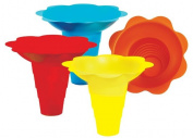 Paragon - Manufactured Fun 6504 Large Flower Drip Tray Cups - Multicolor