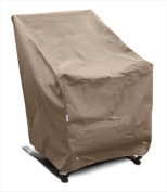 KoverRoos 32250 KoverRoos III High Back Chair Cover Taupe - 29 W x 31 D x 36 H in.