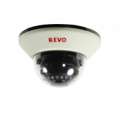 Revo America RCDS30-4BNC 1200 TVL Indoor Dome Surveillance Camera With 30m Night Vision & BNC Conversion Kit