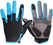 Kutook Autumn Gel Pad Full Finger Bike Gloves Finger Tip with Touch Screen Function
