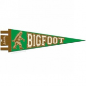 Bigfoot Pennant by Accoutrements - 12523
