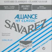 Savarez Strings 540J high tension Nylon Classical Guitar Strings Multi-Coloured