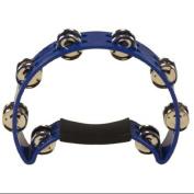 CODA DP-140-BL Tambourine, Blue Multi-Coloured