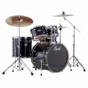 Pearl Export EXX725S 5-Piece Drum Kit, Jet Black