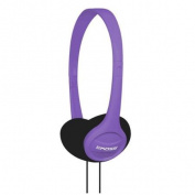 Koss KPH7V Portable On-Ear Headphone with Adjustable Headband - Violet