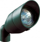 Dabmar Lighting LV190-VG Cast Aluminium Directional Spot Light with Hood Verde Green