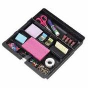 3M MMMC71 Desk Drawer Organiser- 10-.100cm .-41cm .x 11-.160cm .x 1-.130cm .- Black