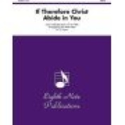 Alfred 81-HE981 If Therefore Christ Abide in You - Music Book