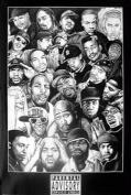 Hot Stuff 2371-24x36-CE Rap Gods 1 Poster