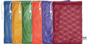 Olympia Sports BC102P 120cm . x 60cm . Mesh Bags - Set of 6 Colours