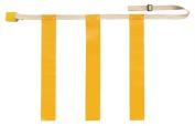 Olympia Sports FB627P Triple Threat Flag Football Belt - Small - Yellow