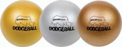 Olympia Sports BL284P Rhino Skin Dodgeballs - Metallic - Set of 3