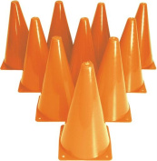 Olympia Sports TR790P 23cm . Drill Cones - Set of 10