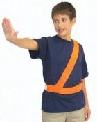 Olympia Sports SF170P Orange Safety Patrol Belt - Small