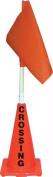 Olympia Sports SS149M Orange Cone with Orange Flag - Crossing