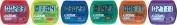 Olympia Sports TL236P Coloured Step Pedometers - Set of 6 - 1 ea. Colour