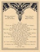 AzureGreen EPRAVP Raven Prayer Poster