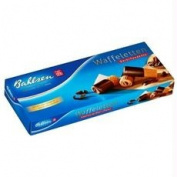 Bahlsen B76425 Bahlsen Dark Chocolate Dipped Wafer Rolls -12x100ml