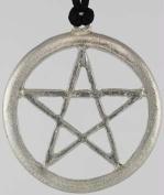 AzureGreen JPL2 Extra Large Pewter Pentagram Pendant