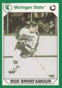 Autograph Warehouse 101343 Rod Brind Amour Hockey Card Michigan State 1990 Collegiate Collection No. 197