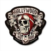 Past Time Signs HHR019 Skull Pistons Automotive Custom Metal Shape