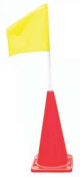 28 Obstacle Cone w/ Yellow Flag