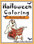 Halloween Coloring Activity Book
