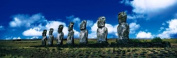 Panoramic Images PPI69941L Easter Island Chile Poster Print by Panoramic Images - 36 x 12