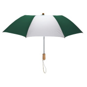 Peerless 2363-Hunter-White Executive Folding Umbrella Hunter And White